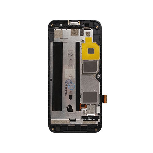 LCD and Touch Panel Screen With Frame for ZTE Blade Apex 2 Orange Hi 4G+ Clean Cloth