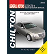 Chilton Total Car Care Cadillac CTS & CTS-V 2003-2012 Repair Manual (Chilton's Total Car Care Repair Manual) 1st edition by Chilton (2012) Paperback