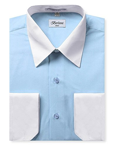 dress shirts two tone - 2