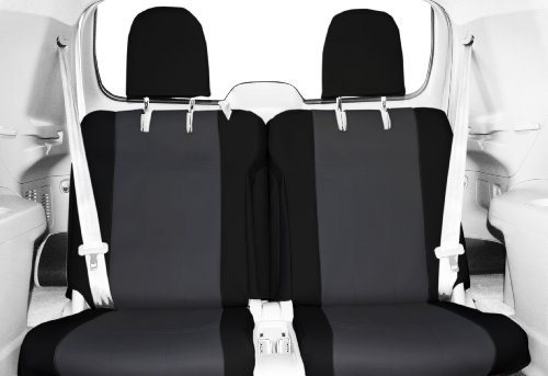 Caltrend Rear Row 50/50 Split Bench Custom Fit Seat Cover...