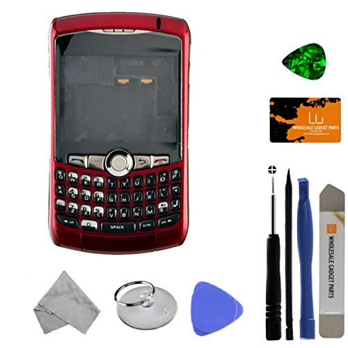 Housing (Complete) for BlackBerry 8300, 8310, 8320 Curve (Red) with Tool Kit