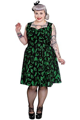 Vestido Hell Negro Mujer Para Bunny q0YYf8Xv