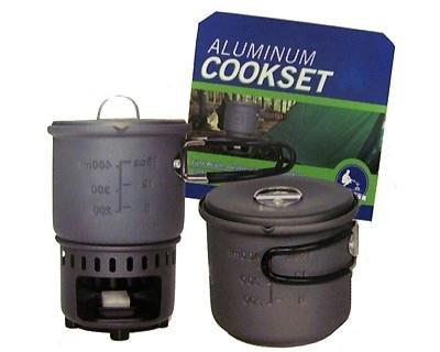 7943 Bleuet 600 ML Aluminum Cookset - Stove