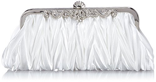 White Satin Purse - 6