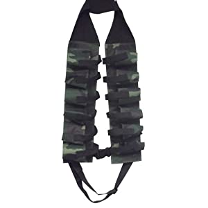 12-Pack Beer Belt Bandolier, Camo