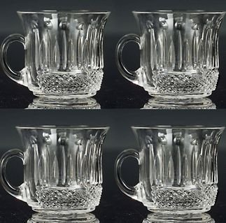Godinger 3053 Set of 4 King Louis Punch Cups
