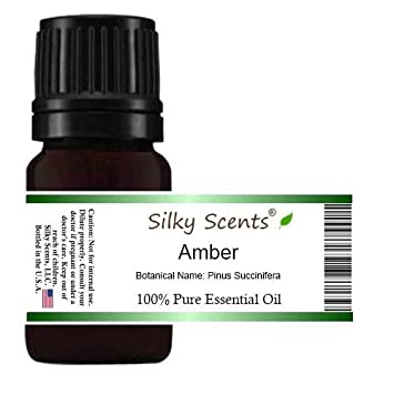 amazon com amber essential oil (pinus succinifera) 100% pureimage unavailable image not available for color amber essential oil