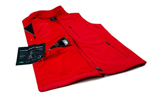 SCOTTeVEST Fireside Vest for Women - 15 Pockets - BLK M3