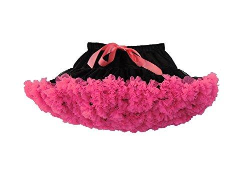 di Lore per Principessa Carnevale Tulle Balletto Tutu Bambina A Costumi Sottoveste Rose Elfin Danza Ragazza Gonna nero 7RqpwxTT