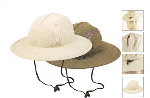 unisex-outdoor-sun-bucket-boonie-hat-with-durable-mesh-lining-and-hidden-stowable-neck-flap-50-upf-u