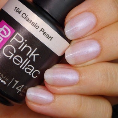 Pink Gellac #164 Classic Pearl Soak-Off UV / LED Gel Polish