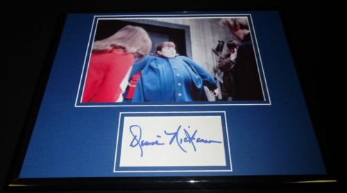 Denise Nickerson Signed Framed 11x14 Photo Exhibit Willy Wonka Violet
