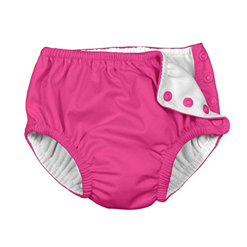 i play. by green sprouts Clothing, Shoes & Jewelry Swim Diaper, Hot Pink, 6 Months