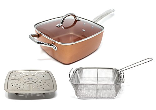 5 inch frying pan with lid - 3