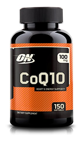 Optimum Nutrition COQ10 Softgels, 100 mg, Heart Health Supplement, 150 Count