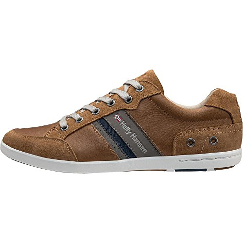 Scarpe Uomo Leather Basse Hansen Light 725 Kordel Ginnastica Falcon Marrone da Tan Helly N New 4w1tHqx1