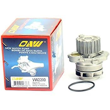 OAW VW2200 Engine Water Pump for Volkswagen Jetta Beetle Golf 1.9L Diesel Turbo 1998 - 2004