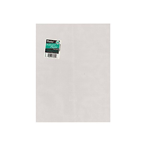 [해외]천공 된 플라스틱 캔버스 14 Count 8.5 X11/Perforated Plastic Canvas 14 Count 8.5 X11