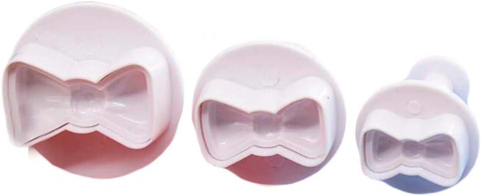 2 Sets Forma de Corbata de moño Fácil de Usar Hermosa Pastelería ...