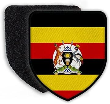 Copytec Patch Flagge von Uganda Kampala Republik Land Staat Wappen Flagge Fahne Landeswappen Landesflagge#21530