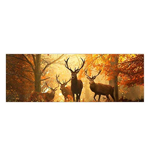(MKChung Elks in Woods Rear Window Tint Graphic Decal Sticker for Car (16874cm))