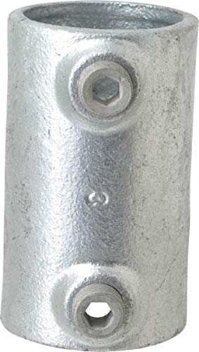Kee - 1-1/2 Inch Pipe, Malleable Iron Pipe Rail Fitting (5 Pack)