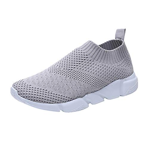 Frauen Schuhe Flat Sneaker Grau Bequem Ultra Sonnena Laufschuhe Light Up Outdoor Gym Damen Joggingschuhe Damen Knöchel Sexy Mode Lace Trainer Turnschuhe Schuhe wICE8