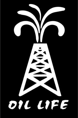 Amazon com: White Vinyl Decal Oil Life rig Field Pipeline Roughneck