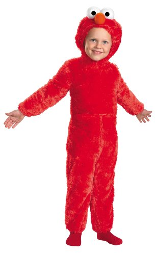 [Elmo Comfy Fur Costume (12-18 months)] (Sesame Street Costumes For Babies)