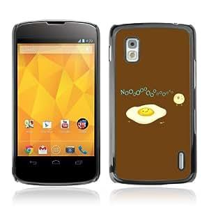 Designer Depo Hard Protection Case for LG Nexus 4 E960 / Egg & Bird