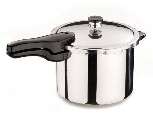 Presto 01362 6-Quart Stainless Steel Pressure Cooker, Outdoor Stuffs