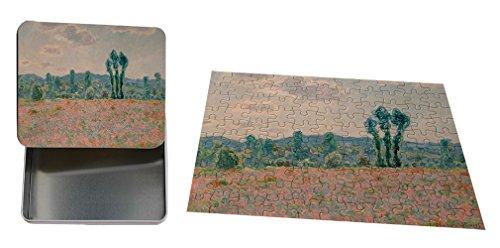 Poppy Field Argenteuil (Poppy Field, Argenteuil (Monet) Metal Tin Trinket Box (4