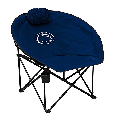 Logo Brands NCAA Penn State Squad Chair, One Size, - Penn Chair Tailgate State