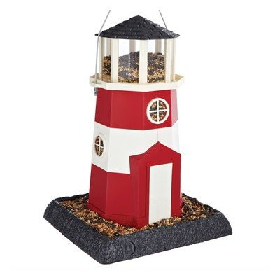 Shoreline Lighthouse Bird Feeder Color: Red Review