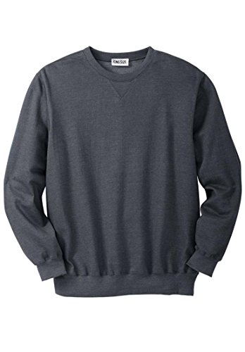 Kingsize Mens Fleece Crewneck Sweatshirt