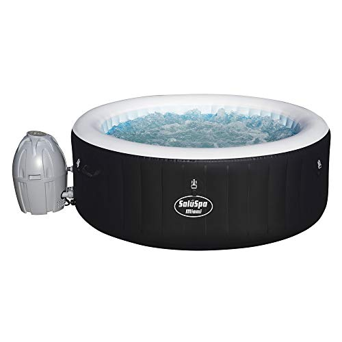 SaluSpa Miami AirJet Inflatable Hot Tub ()