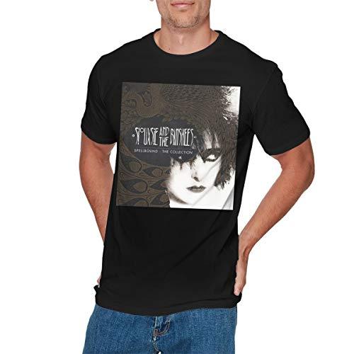 COREY HUTCHINSON Mens Cool Siouxsie & The Banshees Spellbound T Shirt 4XL Black -