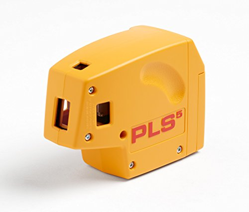 Pacific Laser Systems PLS 5-Beam Laser Level with Cross Line Laser System with SLD Detector - Beam Five Laser Level