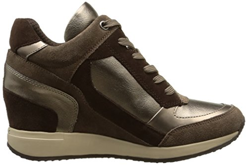 Geox Women's Sports Shoes, Colour Brown, Brand, Model Women's Sports Shoes D NYDAME A Brown Brown