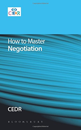 How to Master Negotiation Pdf