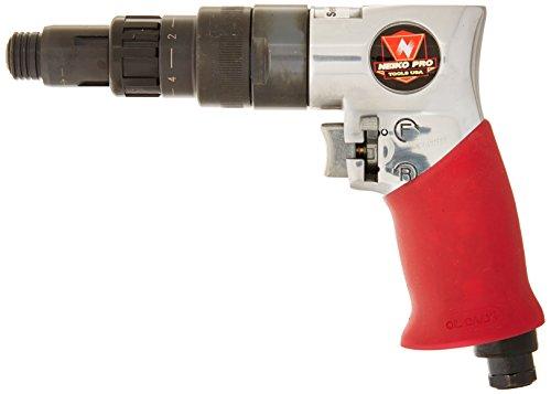(Neiko 30102B External Clutch Pistol Grip Adjustable Air Screwdriver,)