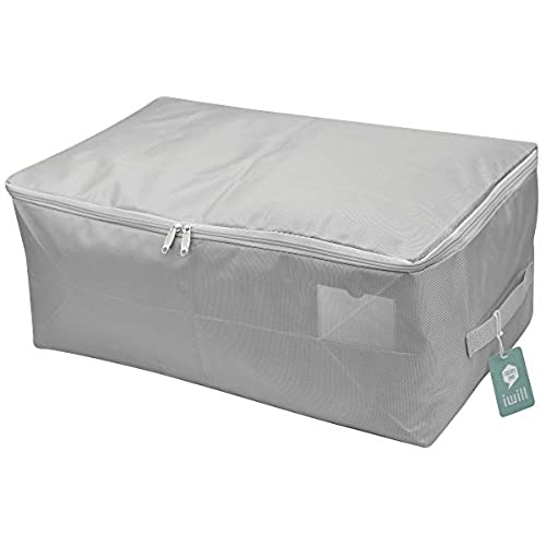 Thick Oxford Fabric Clothes Storage Bag, Folding Organizer Bag For  Comforters, Blanket, Clothes Storage. Waterproof, Dustproof, Moistureproof  With Zipper ...