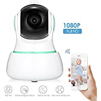 Wireless 1080P HD IP Camera Joyhero WiFi IP Camera High Definition,with Two-way Audio, cloud storage, zoom camera Night Vision Camera for Pet Baby Monitor, Home Security Camera Indoor Camera