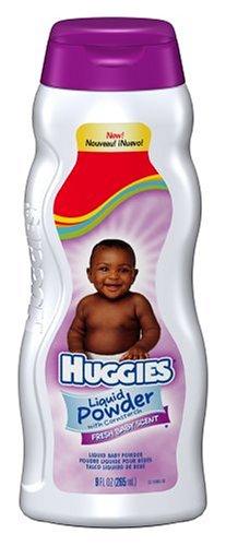 Huggies Liquid Powder with Cornstarch, Fresh Baby Scent, 9 fl oz (265 ml)