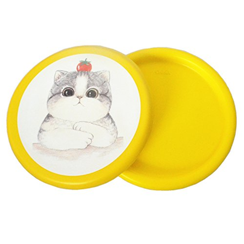 Flytoup Foam Frisbee Disc Parent-Child Interaction Toy 2Pack Soft Frisbee Disc Outdoor Kids Toy Flyer Foam Disc Fun Sports Games for Boys Girls Family (yellow ()