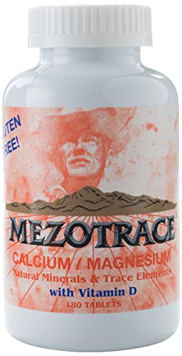 Calcium Magnesium Minerals And Trace Elements W Vitamin D 180 Tablets
