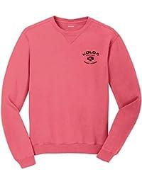 Koloa Surf Mens Vintage Arch Logo Washed Garment Dye Sweatshirt in Sizes S-4XL