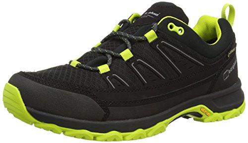 Berghaus Explorer Active Gtx Tech Shoes, Men'S Low Rise Hiking Shoes, Multicolor (Black/Lime Z45)), 10 UK (44 1/2 EU)