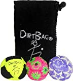 DirtBag All Star Footbag Hacky Sack 3 Pack with Pouch