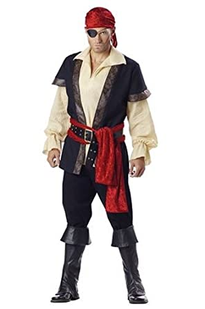 sc 1 st  Amazon.com & Amazon.com: InCharacter Costumes Menu0027s Pirate Costume: Clothing